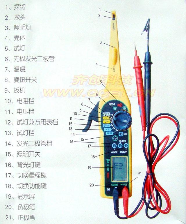 汽车电路检测仪
